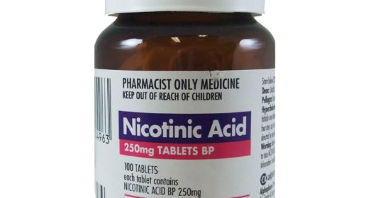 Nicotinic Acid 250mg 100